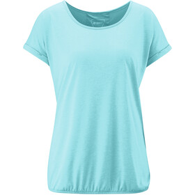 Maier Sports Lulea T-Shirt Damen angel blue melange